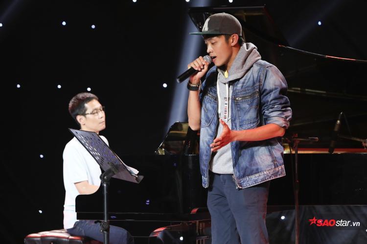 Ca khúc của Dương Quốc Huy tại vòng Trại sáng tác vẫn chưa hoàn hảo để được trình diễn trên sân khấu Tranh đấu.