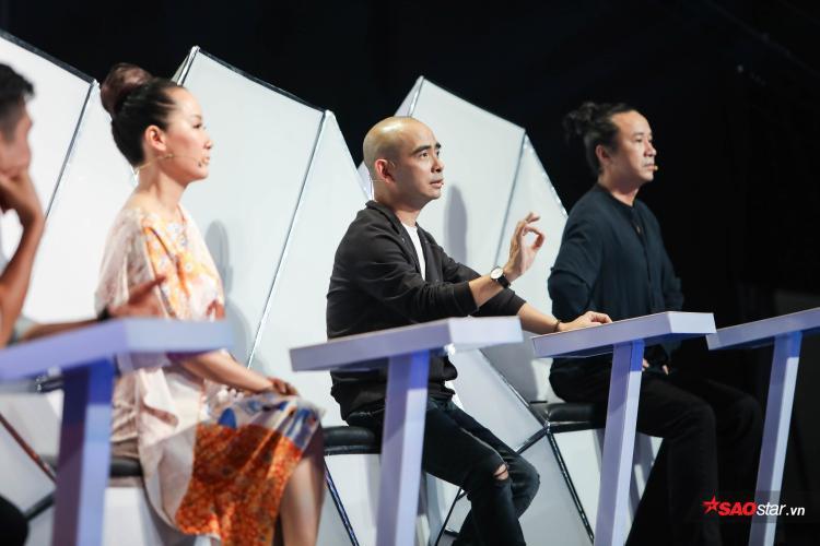Bộ đôi Đức Trí - Giang Son góp ý thẳng thắn về phần lời và giọng hát của Quốc Huy.