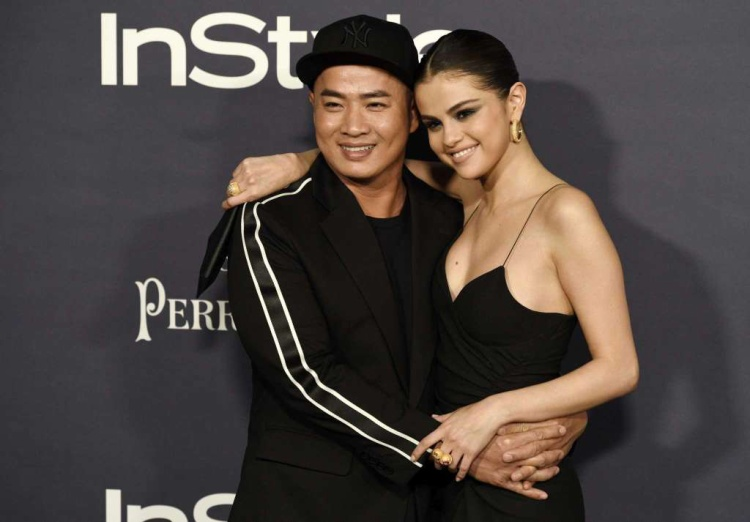 Hung Vanngo và Selena Gomez.