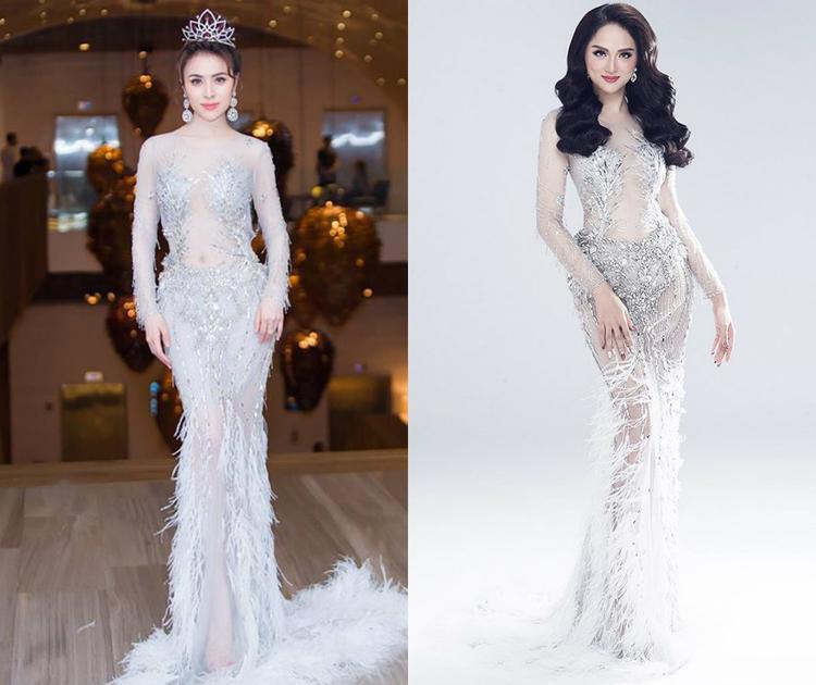 Thậm chí còn đụng ngay cả Hoa hậu chuyển giới Hương Giang.