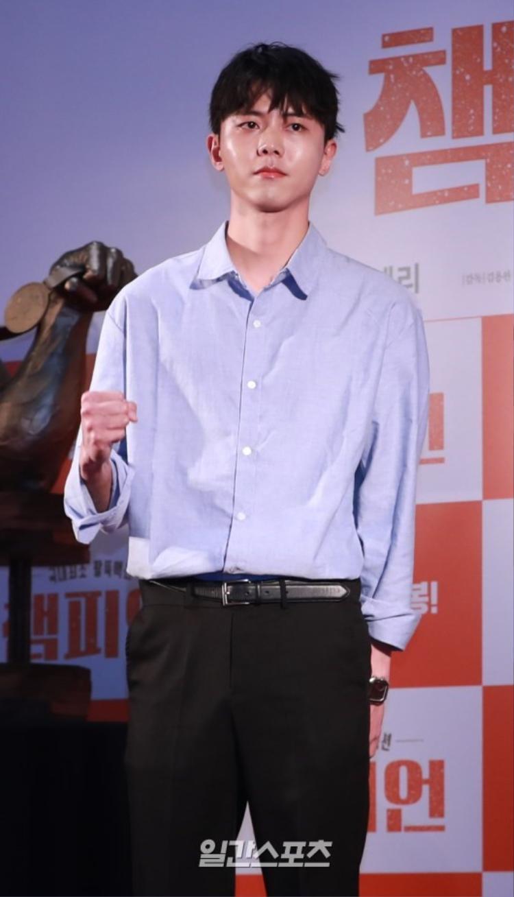 Mỹ nam chân dài Joo Woo Jae.