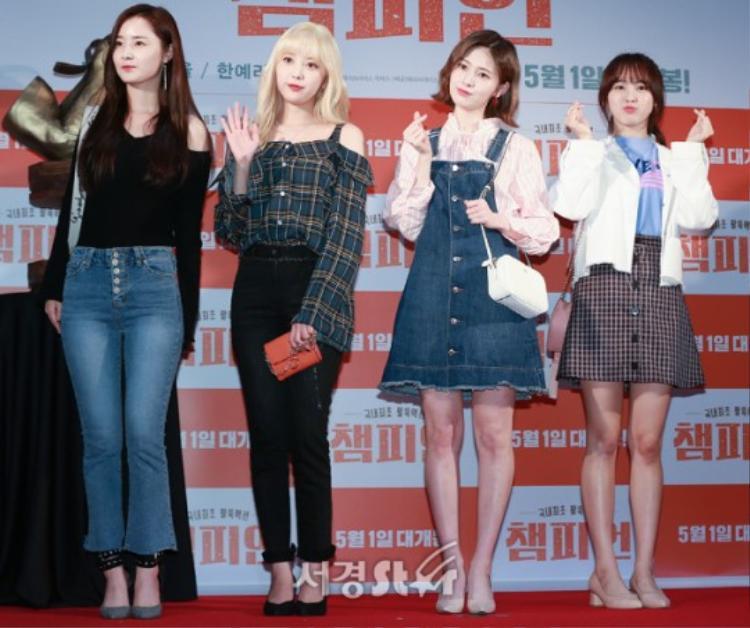 Woo Hee, Yoon Jo, Ye Bin và Ansea.