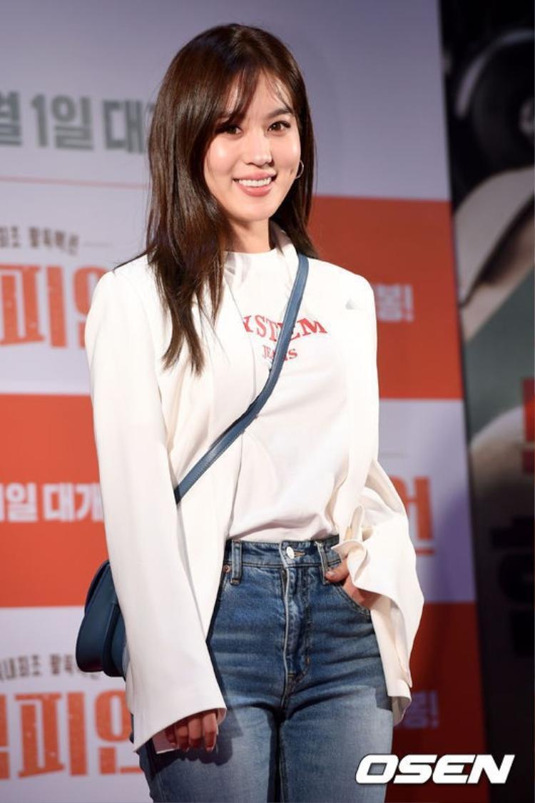 Nữ diễn viên Kim Hee Jung.