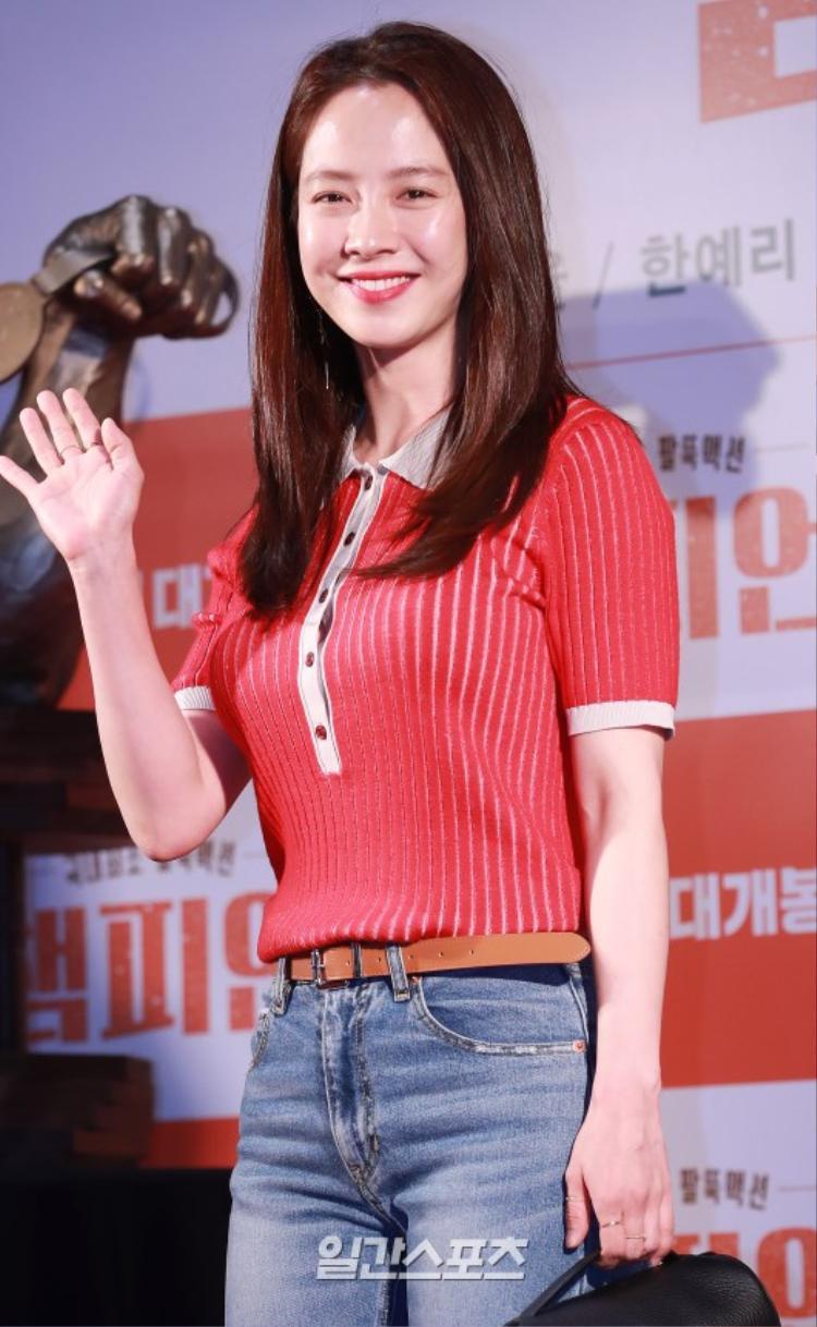 """""""Mợ ngố"""" Song Ji Hyo."""
