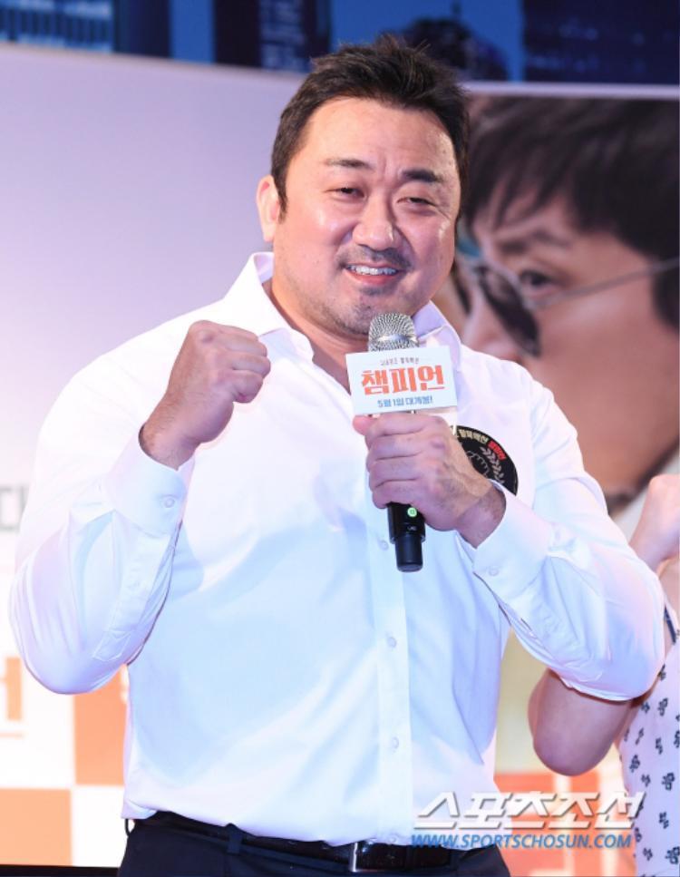 Diễn viên Ma Dong Seok.