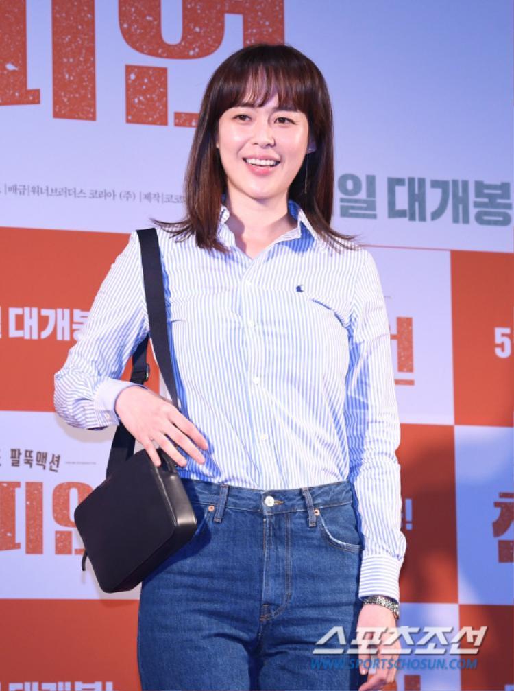 """Nữ chính phim hình sự """"Voice"""" - Lee Ha Na."""