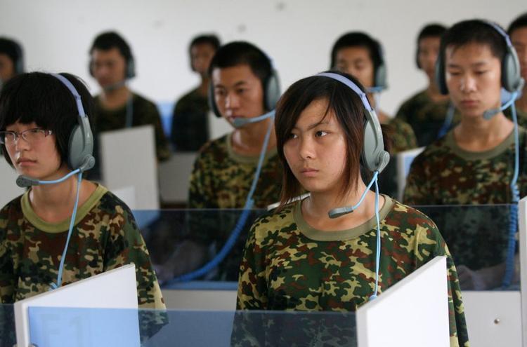 Tại một trại cai nghiện ở Tế Nam, Sơn Đông, các bệnh nhân được yêu ầu nghe một loại nhạc để làm giảm bớt cơn nghiện Internet.