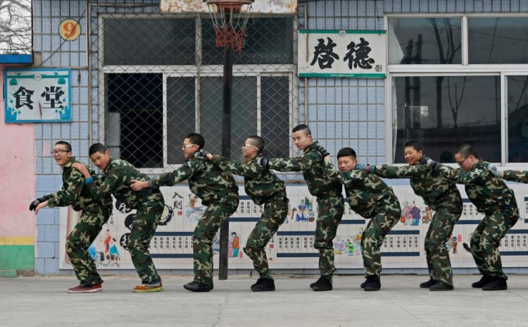 Các bệnh nhân tuân thủ lịch luyện tập, điều trị và sinh hoạt như trong quân đội.