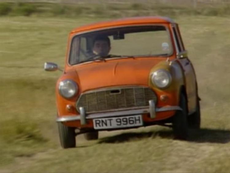 BMC Mini MK II 1969 là chiếc xe đầu tiên xuất hiện cùng Mr. Bean.