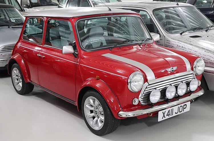 Đây là chiếc Mini cuối cùng được sản xuất.