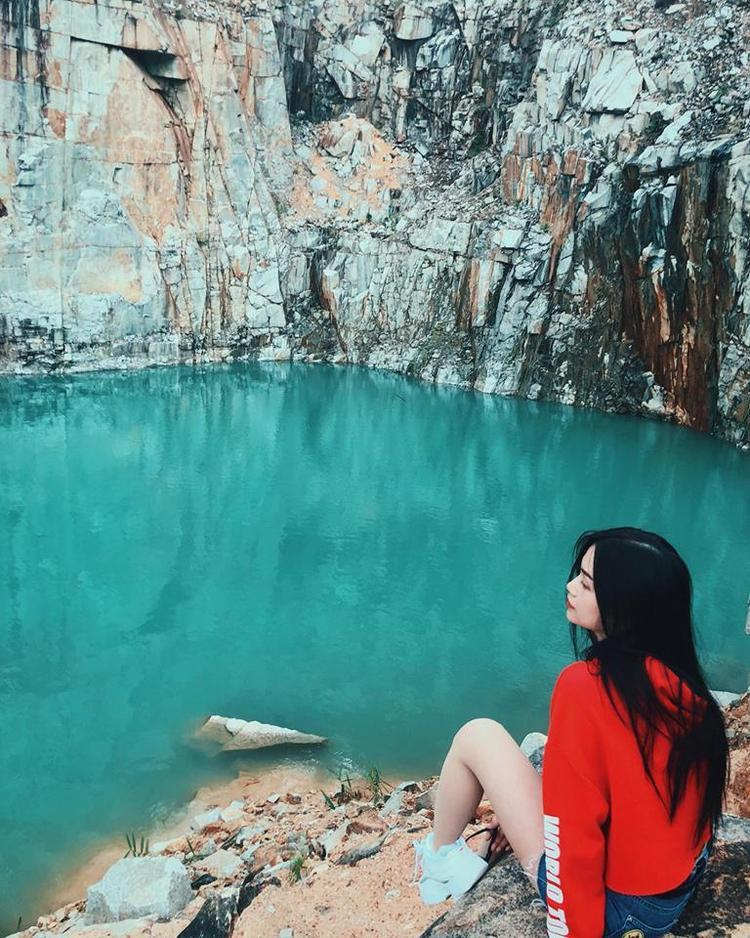 Sĩ Thanh lựa chọn hồ Dankia, Đà Lạt làm địa điểm dừng chân dịp nghỉ lễ.