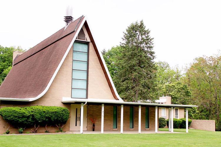 """Địa điểm sinh hoạt của các thành viên""""Hội Thánh Đức Chúa Trời"""" ở Philadelphia, bang Pennsylvania."""