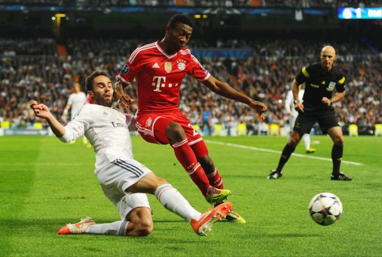 Alaba sẽ trở lại ở trận lượt về với Real Madrid.