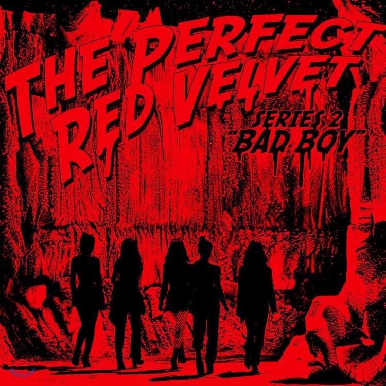 Tiếp đến, đó chính là hình ảnh của 5 nàng út nhà SM Red Velvet trong mini album Bad Boy.