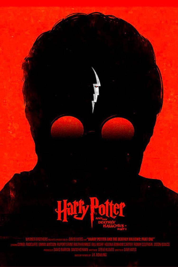 """Hình ảnh nhá hàng cho Harry Potter cũng tìm tới gam màu """"thần thánh"""" này!"""