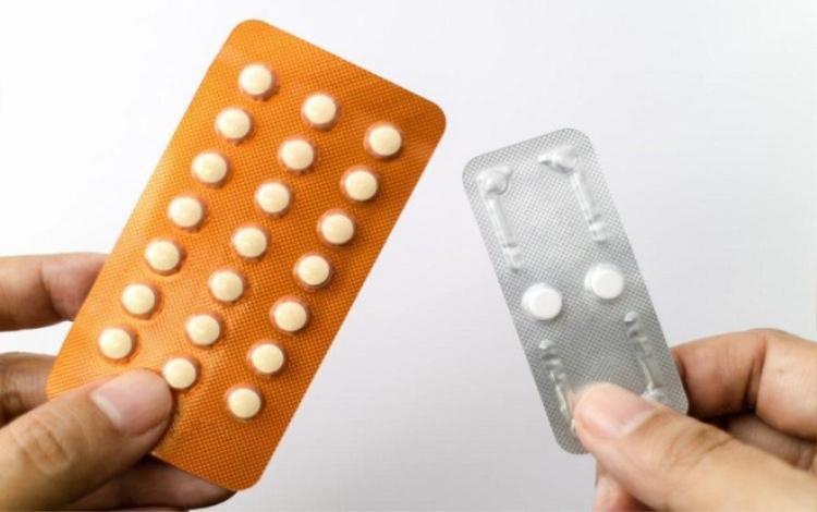 Thành phần estrogen trong thuốc tránh thai sẽ giữ muối và nước làm cơ thể tăng cân