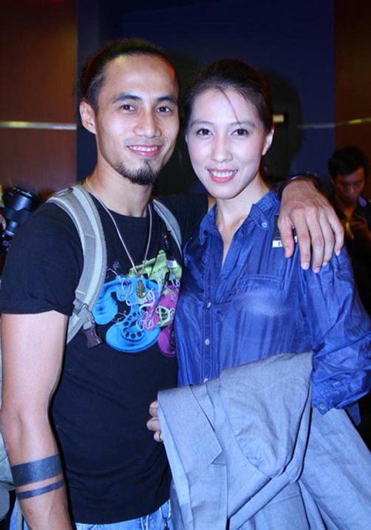 Vợ chồng Phạm Anh Khoa.