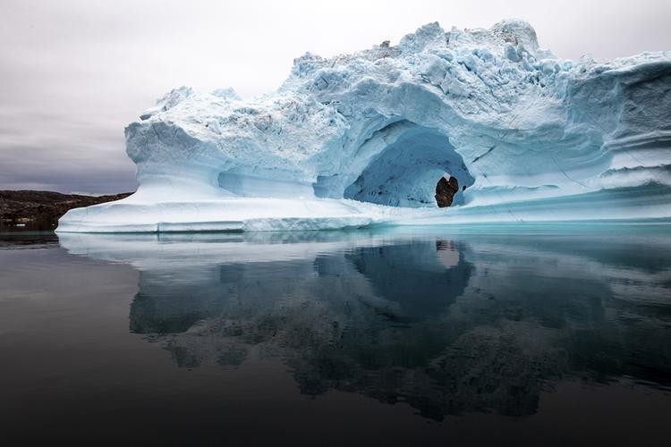Những tảng băng trôi tuyệt đẹp như tác phẩm nghệ thuật.