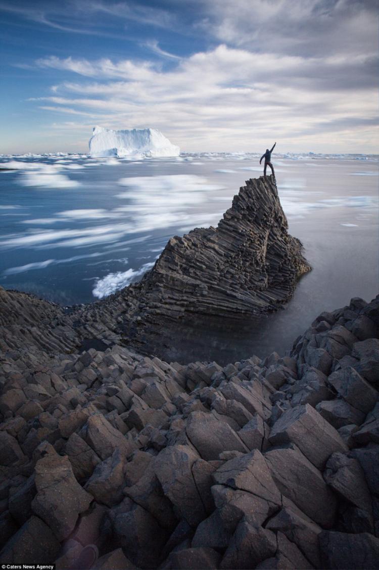 Greenland được ví là vùng đất tận cùng của thế giới. Ảnh Paul Zizka