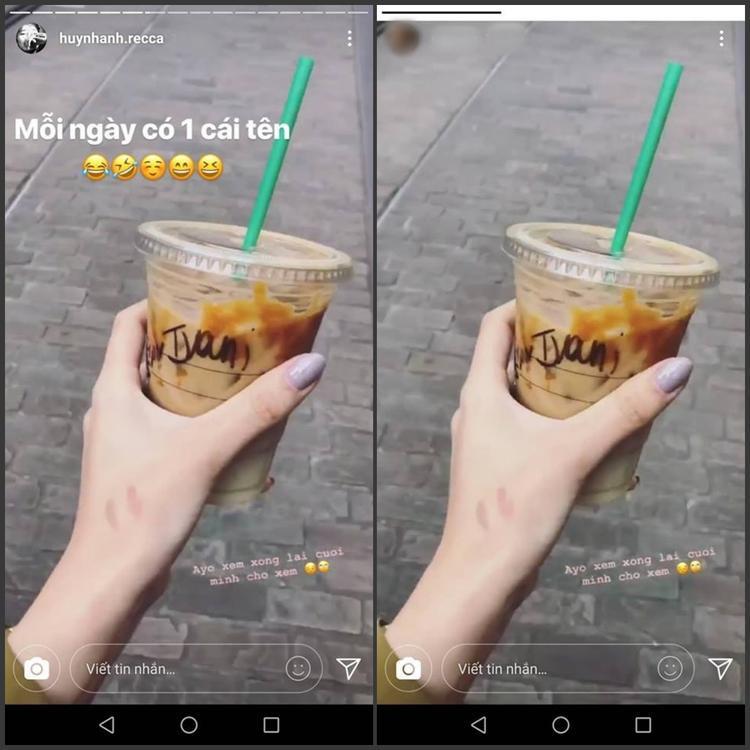 Cư dân mạng nhanh chóng tìm thấy điểm giống nhau giữa Instagram của Huỳnh Anh và cô gái này.