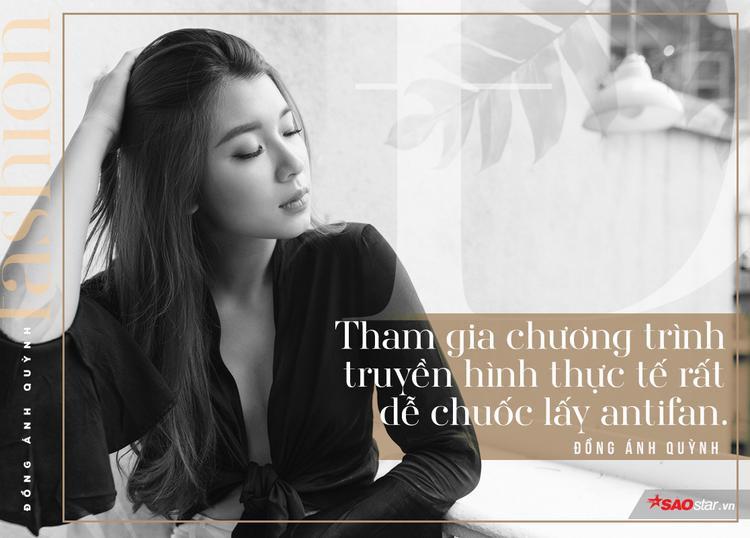Đồng Ánh Quỳnh: Cuộc sống showbiz đã quá áp lực, tôi sẽ không tạo thêm áp lực cho mình