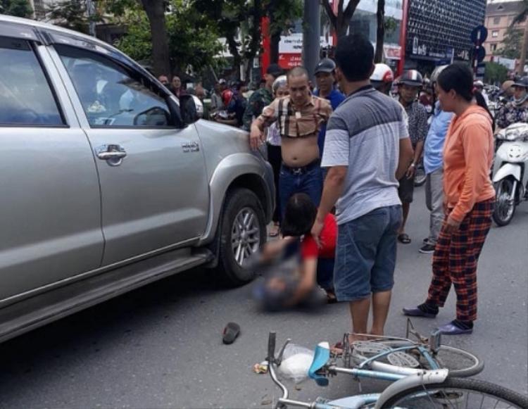 Hiện trường xảy ra vụ tai nạn (ảnh người dân cung cấp)