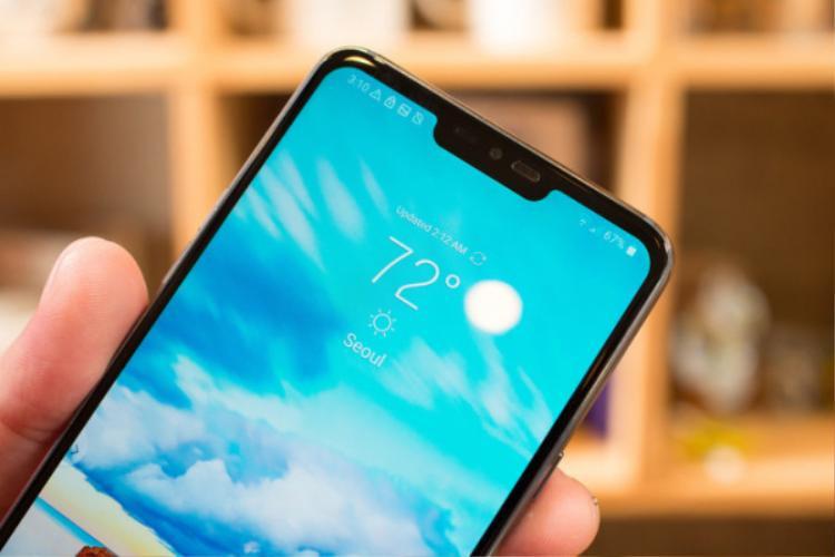 LG G7 ThinQ chính thức ra mắt với màn hình tai thỏ siêu sáng và camera thông minh