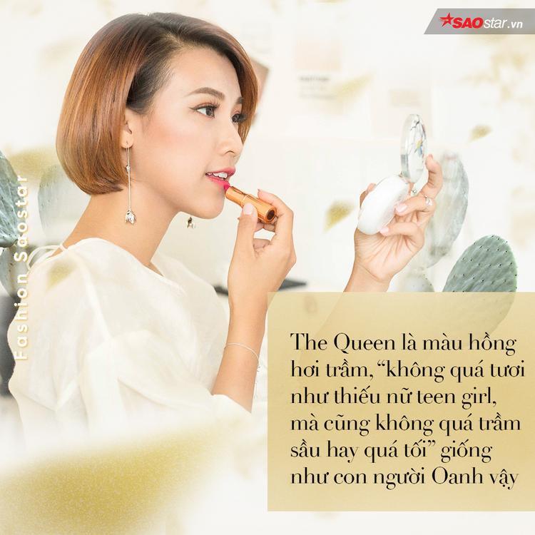 Hoàng Oanh  Dữ dội và dịu êm nằm gọn bên trong chiếc túi Gucci