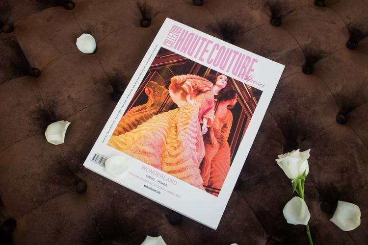 Vừa qua, trong số báo mới nhất ra mắt cuối tháng 4 của tạp chí thời trang cao cấp Collezioni Haute Couture của Ý, hình ảnh BST Phương My Xuân, Hè 2018 lại một lần nữa được tạp chí thời trang cao cấp này nhắc đến.