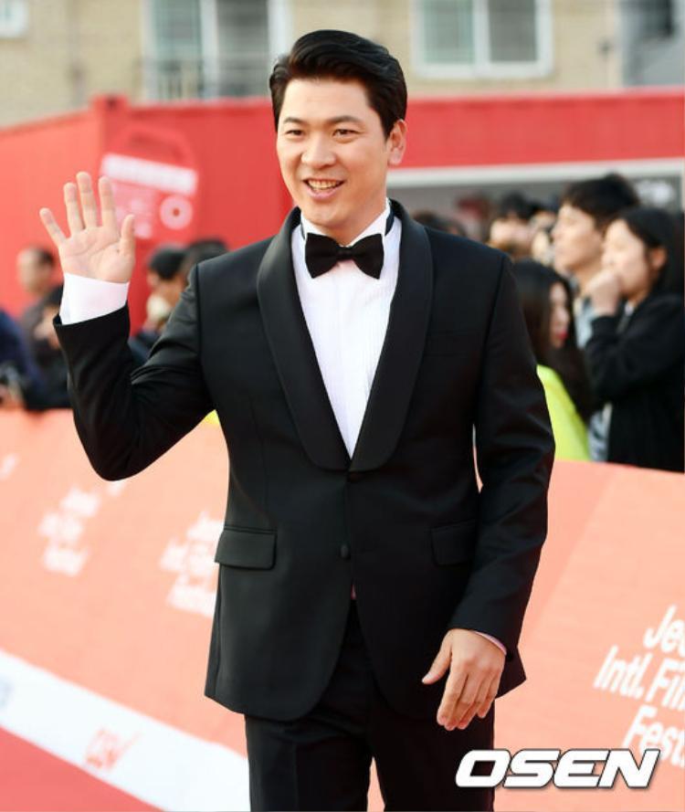 Nam diễn viên Kim Sang Kyung.