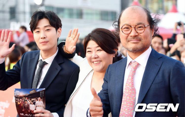 Bộ ba Kim Sang Ho, In Hee Cheol và Lee Jung Eun.