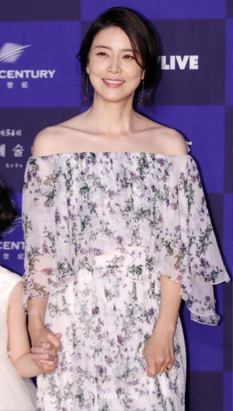 Hoa hậu, diễn viên Lee Bo Young.