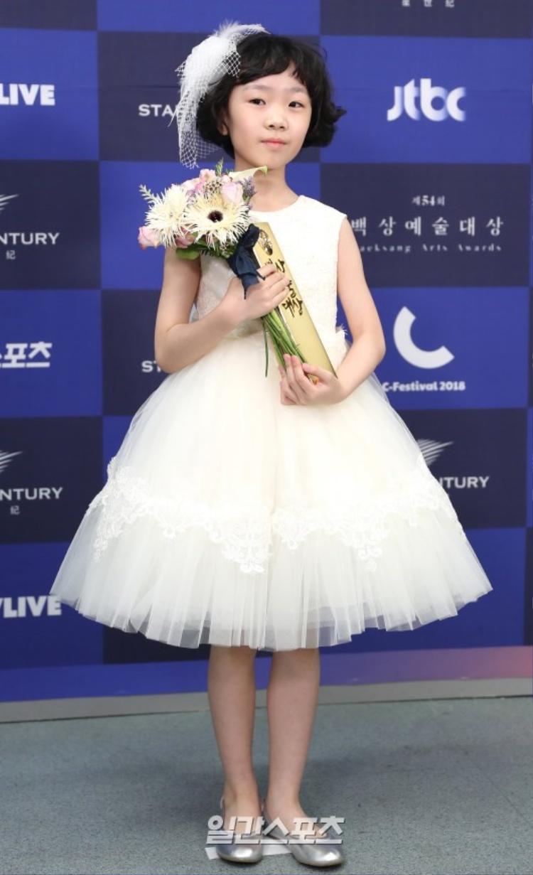 """Diễn viên nhí Heo Yeol của """"Mother""""."""