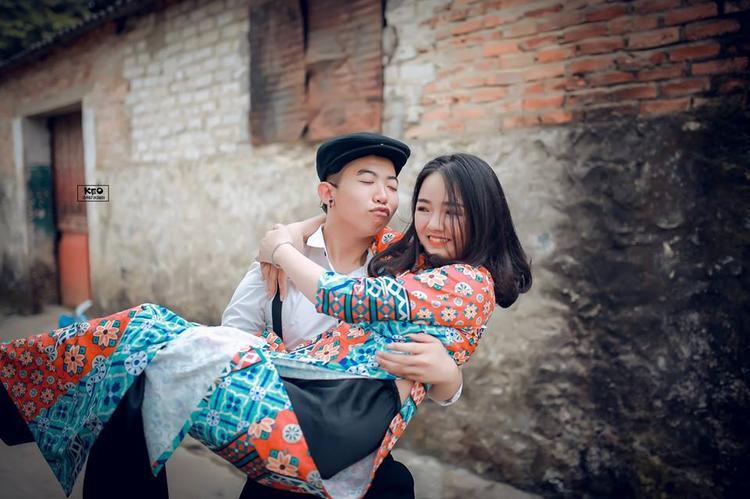 Quang Minh cho biết bộ ảnh có sự tham gia của tất cả các thành viên trong lớp.