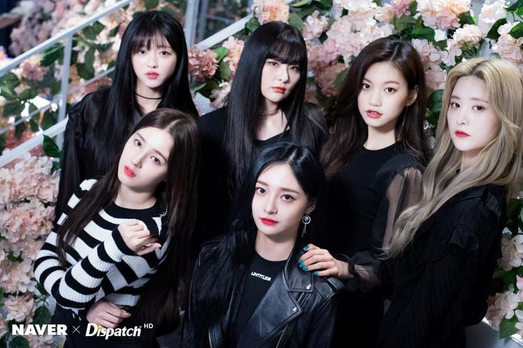 Từ phải qua, hàng trên xuống: Jeonghwa, Doyeon, Seulgi, YooA, Kyulkyung, Nancy.