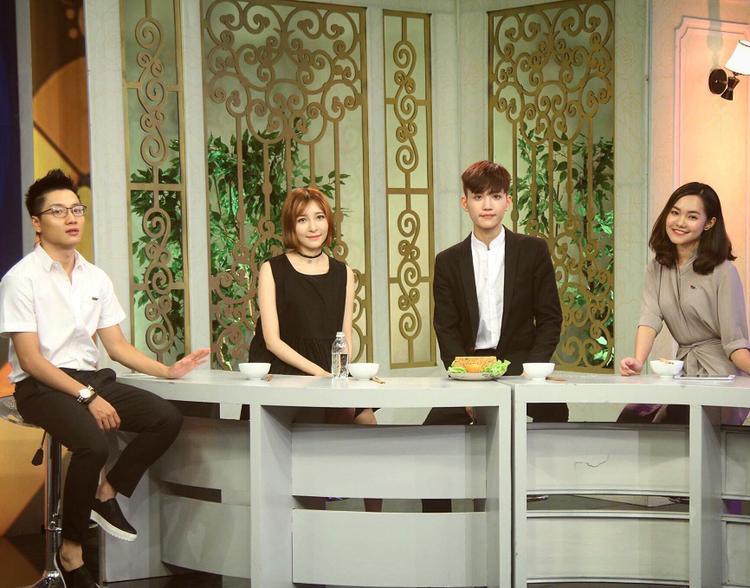 """Hà Trung từng là khách mời tại """"Bữa trưa vui vẻ"""" của VTV6."""