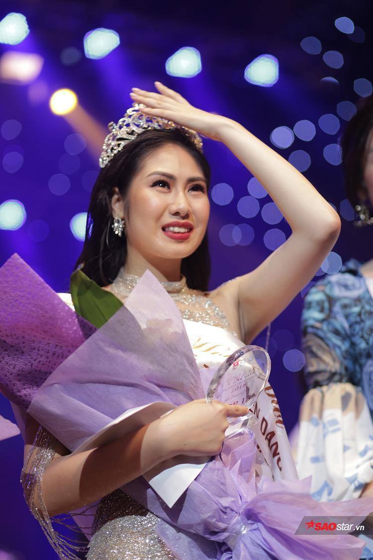 Cận cảnh gương mặt Tân hoa khôi Học viện Âm nhạc Quốc gia Việt Nam