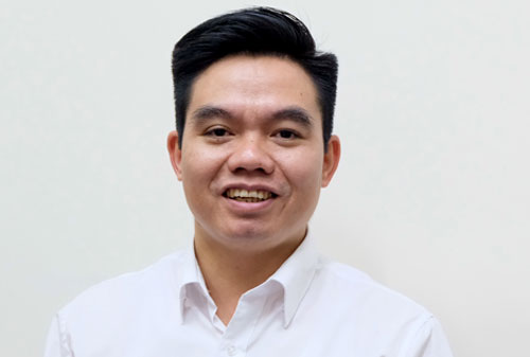 Vụ trưởng Bảo hiểm xã hội Phạm Trường Giang. Ảnh:Hoàng Thùy