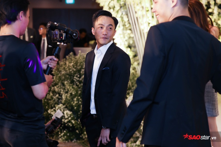 Cường Đô La  Đàm Thu Trang công khai xuất hiện trong tiệc cưới của Diệp Lâm Anh