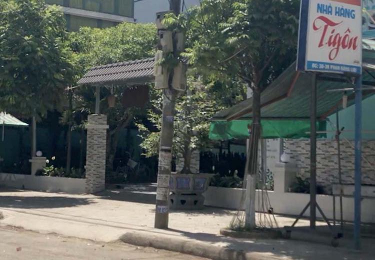 Nhà hàng xảy ra vụ việc. Ảnh Vietnamnet.