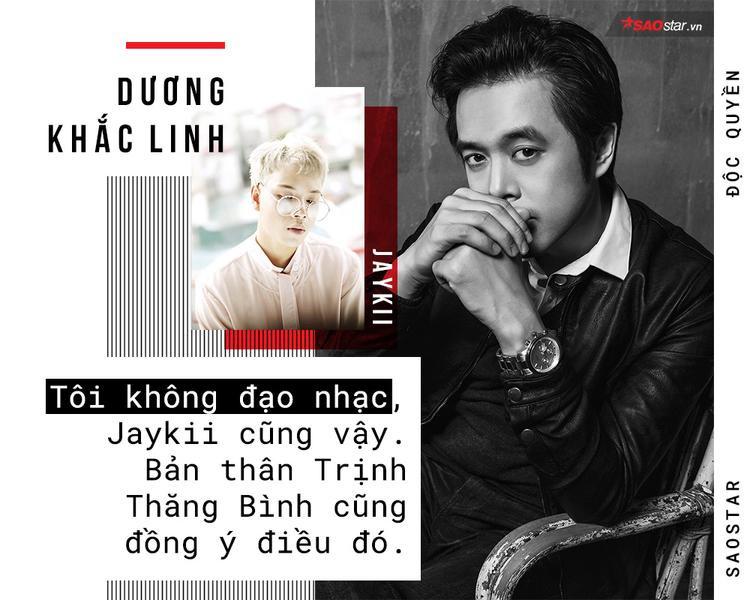 Dương Khắc Linh: Tôi không đạo nhạc, Jaykii cũng vậy và Trịnh Thăng Bình cũng đồng ý điều đó