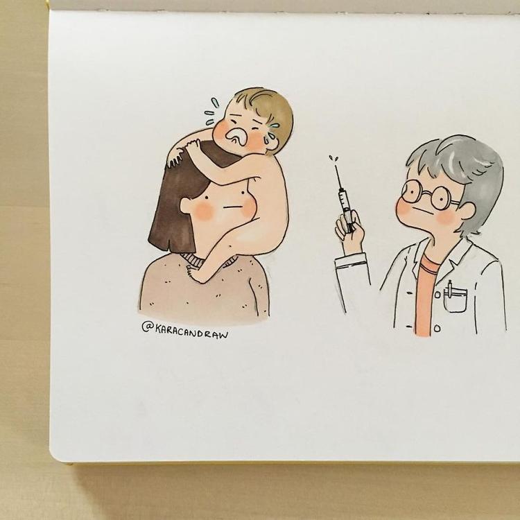 Tất cả các chuyến viếng thăm bác sĩ đều diễn ra trong tình trạng này