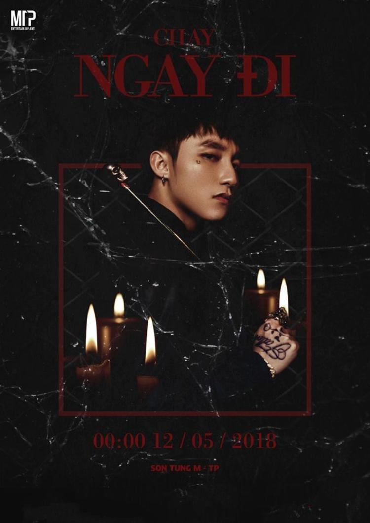 """Poster MV mới nhất được Sơn Tùng """"nhá hàng""""."""
