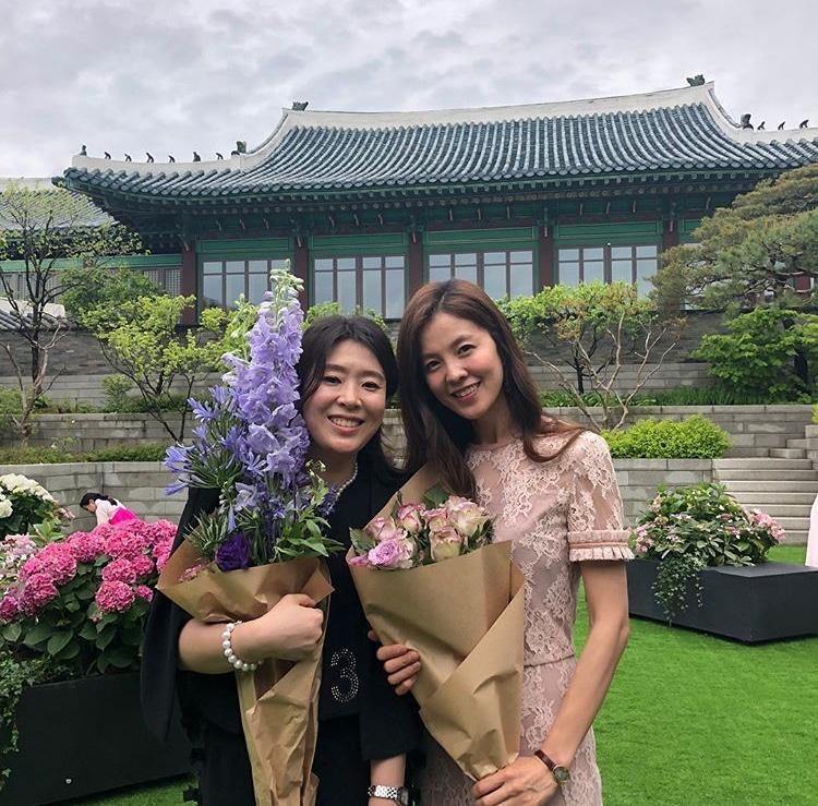 Bạn của Han Chae Ah.