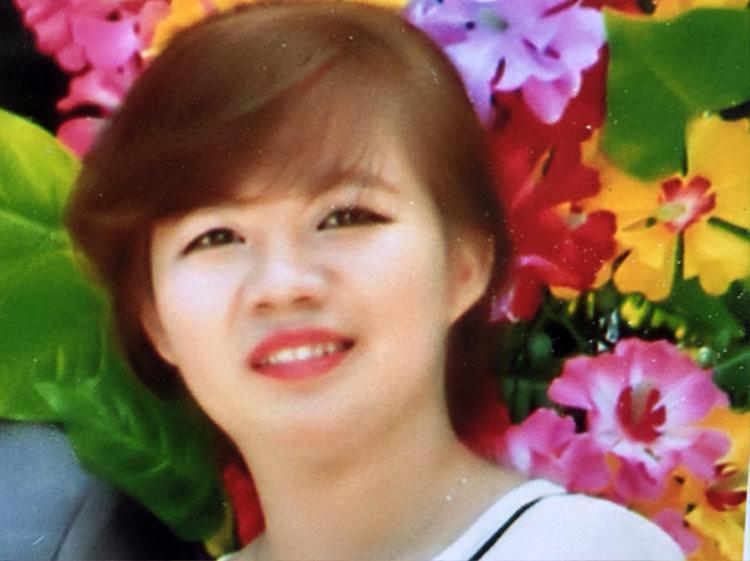 Cô gái được gia đình báo mất tích. Ảnh gia đình cung cấp.