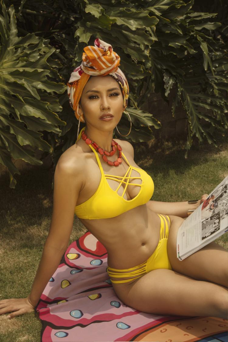 Ngoài nghề mẫu, Nguyễn Thị Loan đang lấn sang lĩnh vực kinh doanh.