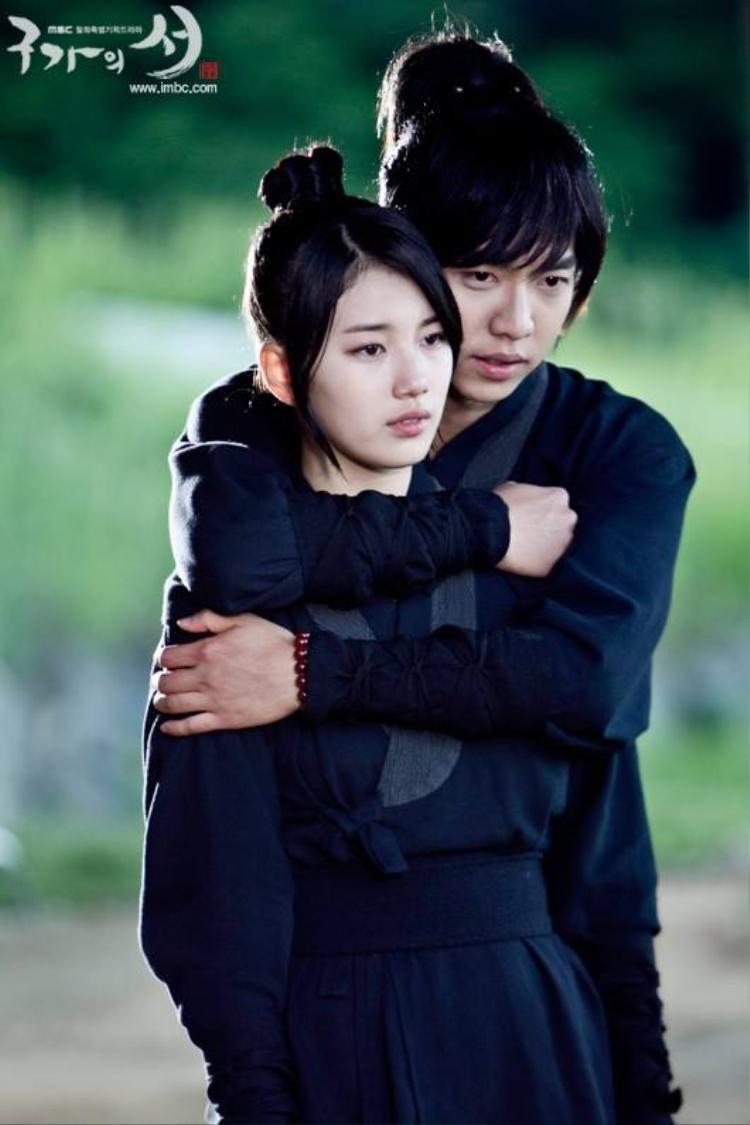 Suzy và Lee Seung Gi.