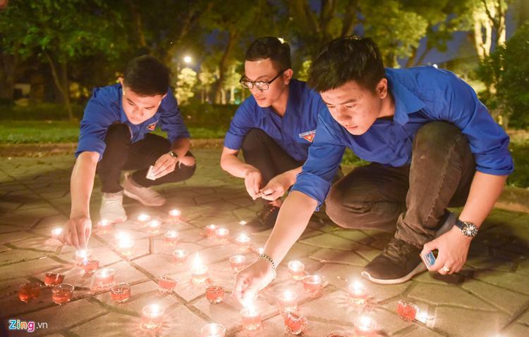 Đây là hoạt động diễn ra hàng năm của câu lạc bộ Liên kết trẻ với thành viên đến từ nhiều trường đại học trên địa bàn Hà Nội.
