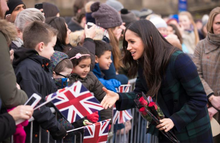 Meghan Markle được dự đoán sẽ là Nữ công tước xứ Sussex. Ảnh: REX