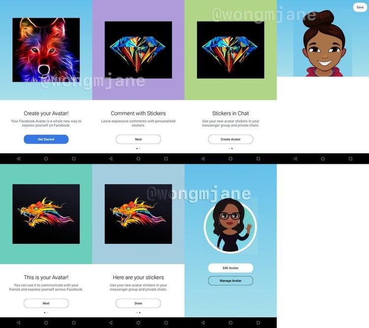 Với Facebook Avatars, người dùng có thể tạo ra phiên bản hoạt hình của mình trên mạng xã hội này.